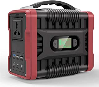 200Wh Portable Power Station Solar Generator, Supplies Energy Storage with QC3.0 USB, LED Display, Backup Power Source for...