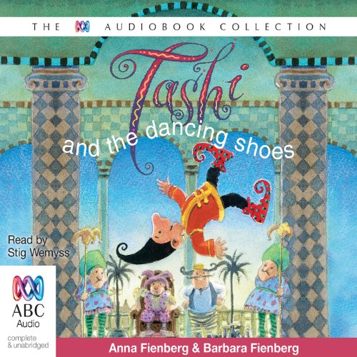 Tashi and the Dancing Shoes audiobook cover art