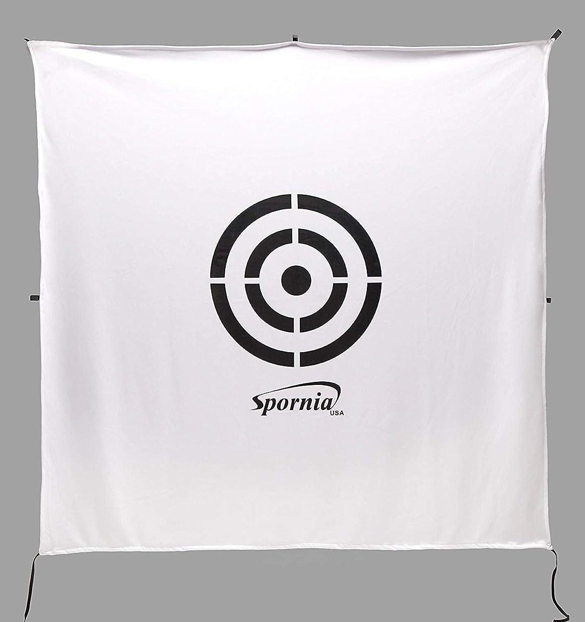 以降お気に入りより【安心の20年実績 ゴルフネット用ターゲットシート】 Spornia 自宅でドライバーやアプローチ練習に 初心者にも設置が簡単な練習器具 スポーニア
