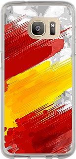 Funnytech/® Funda Silicona para Samsung Galaxy A20e Escudo Espa/ña Orgulloso Gel Silicona Flexible, Dise/ño Exclusivo