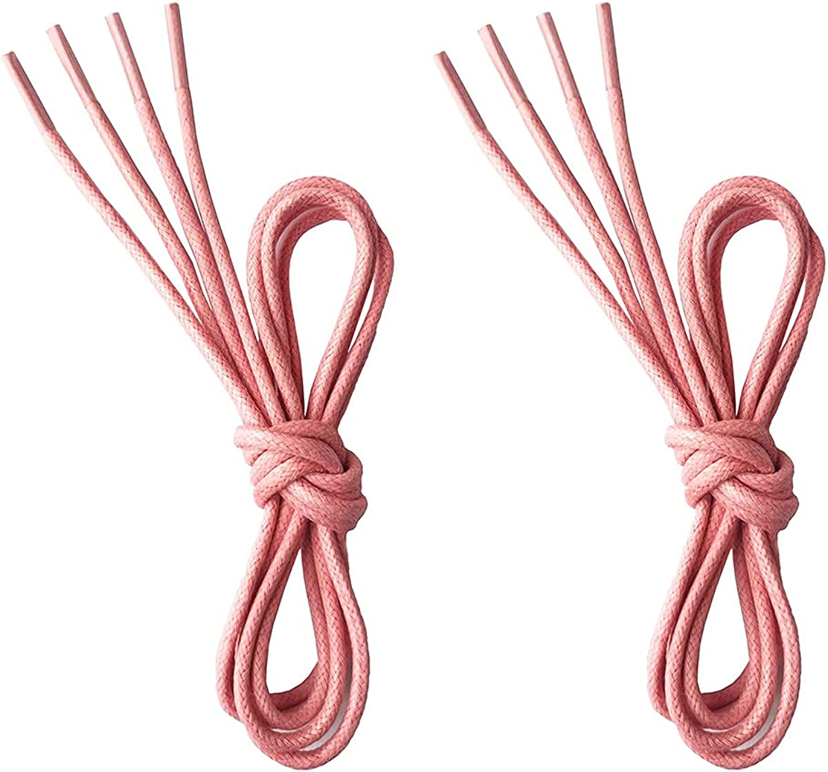 """VSUDO Waxed Round Dress Shoelaces, 1/8"""" Thick Shoe Laces for Oxford or Dress Shoes (2 Pairs) : Clothing, Shoes & Jewelry"""