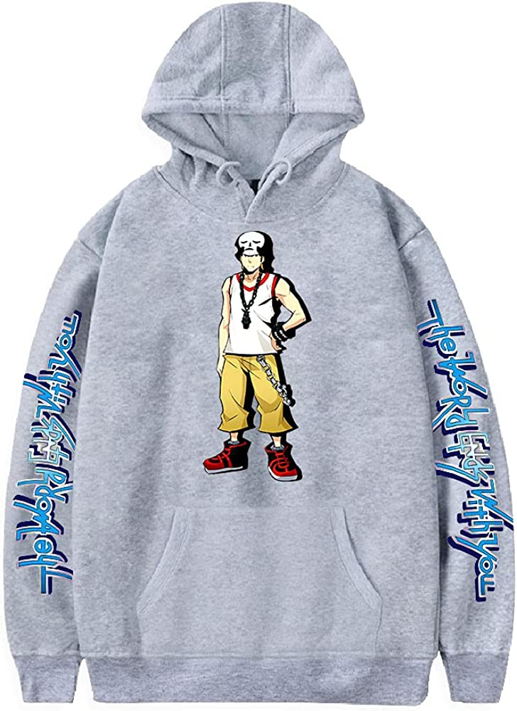 The World Ends Rare with You Hoodie Women's P Men Sweatshirt NEW before selling Harajuku