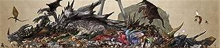 bribase shop Monster Hunter Poster 106 inch x 24 inch / 59 inch x 13 inch