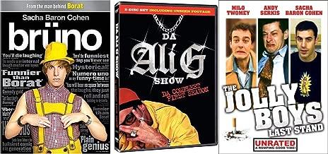 Sacha Baron Cohen Before He Was Famous: The Jolly Boys Last Stand + Brüno + Da Ali G Show (Da Complete First SeaZon) British Comedy 3-Pack