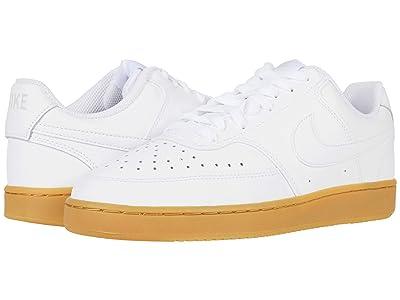 Nike Court Vision Lo (White/White/Photon Dust/Gum Light Brown) Men