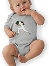 Unisex Baby Onesie Bodysuit Green Oakland Henderson 24 Short-Sleeve Bodysuit for Boys and Girls