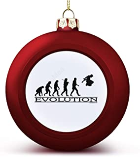 Christmas Ball Ornaments Evolution Parkour Hanging Ball Decorative for Christmas Trees,Holiday Party
