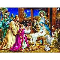 ダイヤモンド刺繡画像ビーズ家の装飾クロスステッチキットダイヤモンドモザイクフルディスプレイダイヤモンド絵画、ラウンド30x40cm