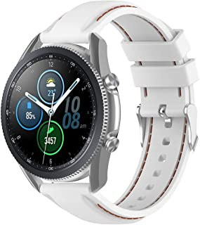 Gransho Correa de Reloj Recambios Correa Relojes Caucho Compatible con Garmin Vivoactive 4 - Silicona Correa Reloj con Heb...