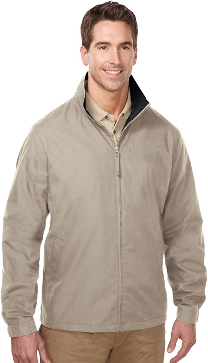 Tri-Mountain Men's Lightweight Wind/Water Resist Zipper Mesh Shell Poplin Jacket