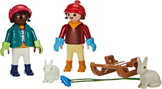 Playmobil Special Plus 70250 Children with Sledge, for Ages 4+
