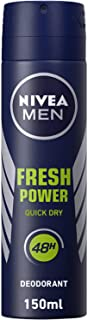 NIVEA MEN Fresh Power, Antiperspirant for Men, Fresh Scent, Spray 150ml
