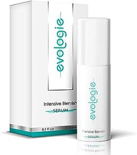 evologie Intensive Blemish Serum   Helps Clear Acne, Dark Spots & Scars   Non-Drying, Hypoallergenic, Natural Ingredients   0.5 Fl. Oz