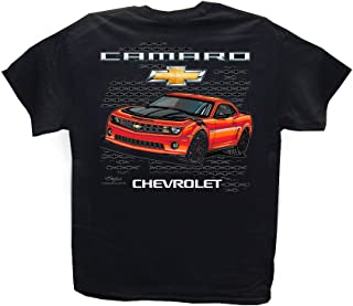 New Chevrolet Camaro Black T-Shirt: Chevy 2010-2017 SS Z/28 ZL1
