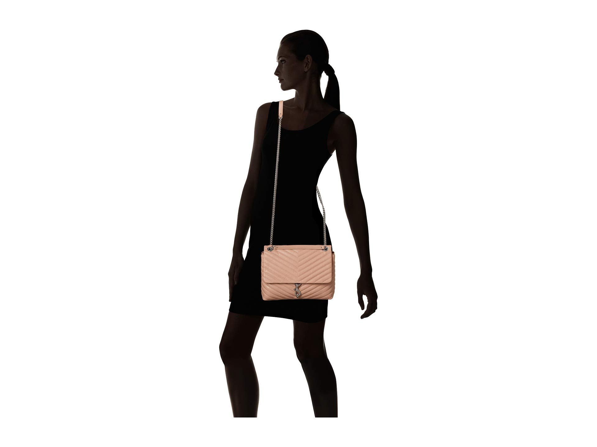 Edie Minkoff Shoulder Rebecca Bag Doe Flap xpTnwHaY