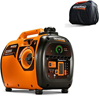 Generac 6901R iQ2000 Inverter Generator 6866 with Storage Cover 6875 Combo Kit (Renewed)