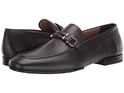 Salvatore Ferragamo Tucker Loafer (Lead Grey) Men