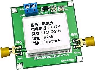 MagiDeal DC12V RF Broadband Amplifier Receiver f, 1 MHz-2 GHz,32dB: 0.01-2000MHz gain 32dB,64dB: 0.1-2GHz gain 64dB Size: ...