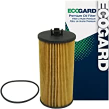 ECOGARD X5526 Cartridge Engine Oil Filter for Conventional Oil - Premium Replacement Fits Ford F-250 Super Duty, F-350 Super Duty, E-350 Super Duty, Excursion, E-350 Club Wagon, E-450 Super Duty
