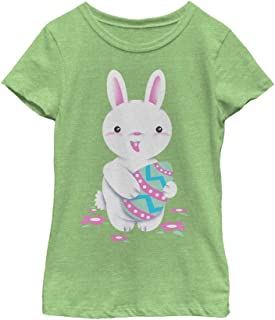 Fifth Sun Girls' Bunny Fun Adorable Easter Tee