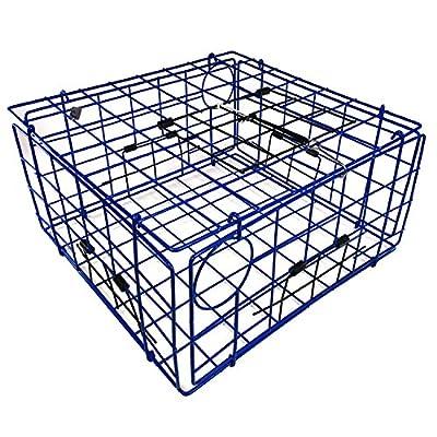 "Promar TR-555 Folding Crab Trap with top Door 24"" x 22"" x 13"""