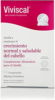 Viviscal Máxima Fortaleza. Capsulas Nutritivas con vitaminas para el cabello - 60 cápsulas (MAX-V2)
