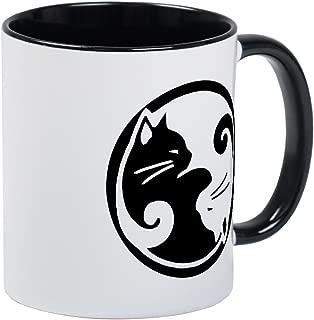 CafePress Yin Yang Cat Mug Unique Coffee Mug, Coffee Cup