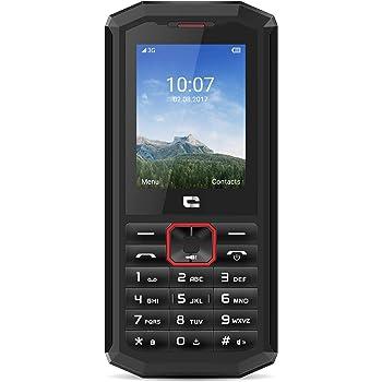 Crosscall Spider-X5 Téléphone portable débloqué 3G+ (Ecran: 2,4 pouces - 64 Go ROM - Dual SIM) Noir