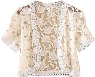 official photos db61d 7e945 Amazon.it: giacchino corto - Bianco / Donna: Abbigliamento