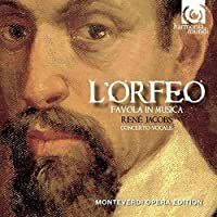 Monteverdi: L'Orfeo (Concerto Vocale/Rene Jacobs) by Laurence Dale (2010-08-10)