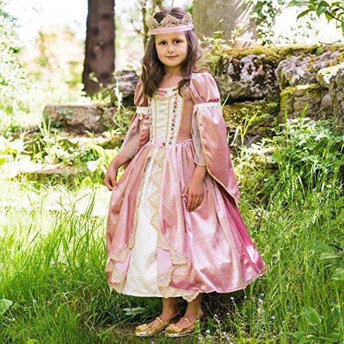 Costume Royal Princess dusky pink/ivory gold - 6 à 8 ans