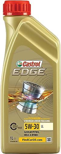 Castrol EDGE 5W-30 LL, Huile Moteur, 1L