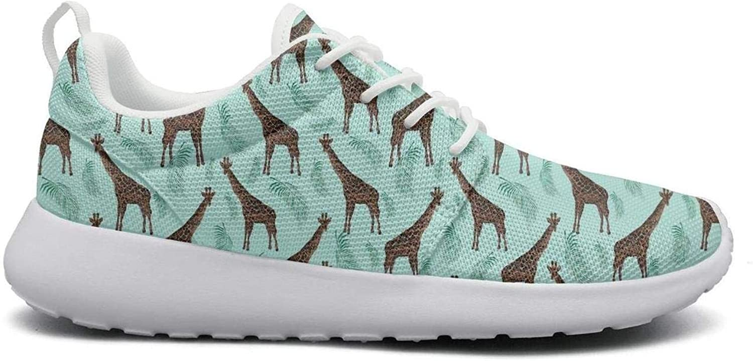 Ipdterty Wear-Resistant Jogger Sneaker Abstract Animal Giraffe Women's Comfortable Athletic Running shoes