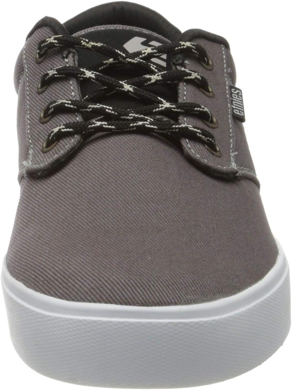 Etnies Jameson 2 ECO, Chaussures de Skateboard Homme Gris Grey Black Gold 037