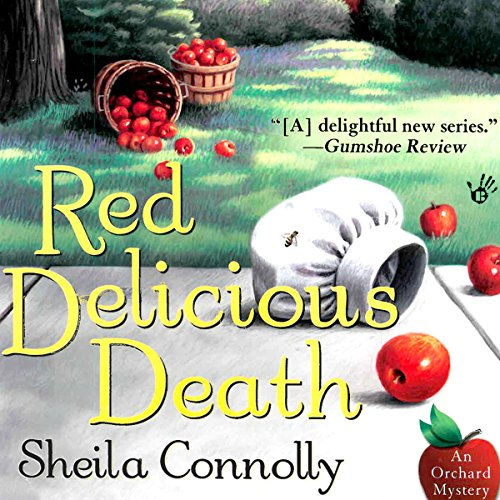 Red Delicious Death audiobook cover art