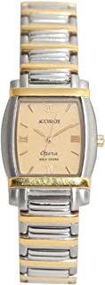 Casual Watch for Women by Accurate, Silver, Oval, ALQ773S