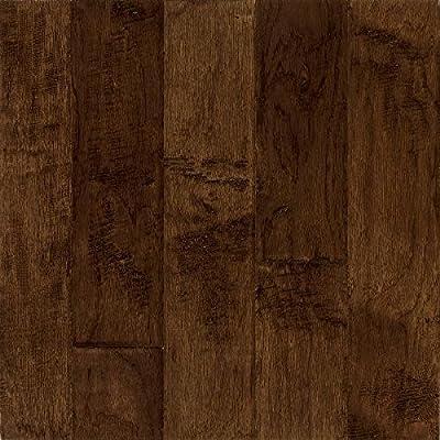 Bruce Hardwood Floors Frontier Hand-Scraped Wide Plank Engineered Hardwood Flooring
