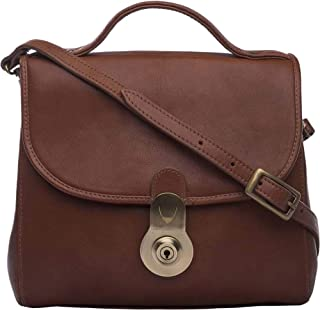 Hidesign Women's Handbag (L Brown)