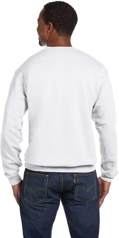 Sportoli Adult Men's 7.8 oz 50/50 Warm Winter Fleece Crew Sweatshirt