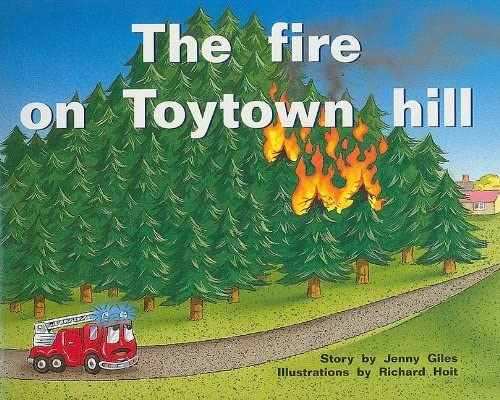 Rigby PM Plus Individual Student Edition Blue Levels 9 11 the Fire on Toytown Hill product image
