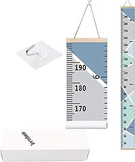 Tabla de crecimiento infantil para niños, tabla de altura de crecimiento,tabla de pared para colgar en la pared reglas para dormitorio de niños, guardería decoración de pared tabla de altura
