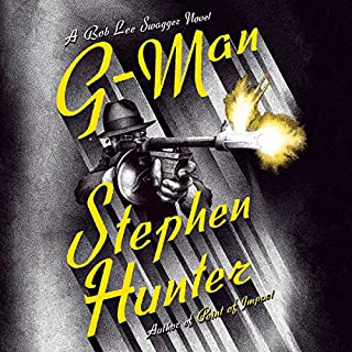 G-Man audiobook cover art
