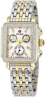 Women's MWW06P000108 Deco Analog Display Swiss Quartz Two Tone Watch