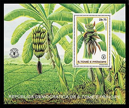 1981 S.Tomé e Príncipe giornata Mundiale Alimentazione - Banana