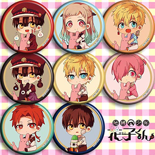 Find Bargain Toilet-Bound Hanako-kun Button pin Toilet-Bound Hanako-kun Pins Button Badge (A)