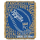 MLB Kansas City Royals 'Double Play' Woven Jacquard Throw Blanket, 48' x 60'