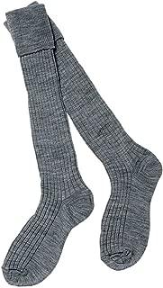 3 Pairs per Pack Ozmoint High Quality School Uniform Girls Pelerine Knee High Socks Cotton Rich White Socks with Elastane for Stretch