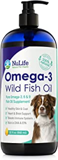 Sponsored Ad - Pure Omega 3 Fish Oil for Dogs Liquid, Wild Caught from Iceland, Skin and Coat Supplement for Shedding, Dry...
