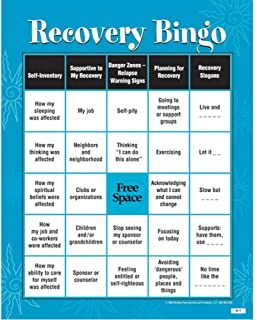 recovery bingo for adults