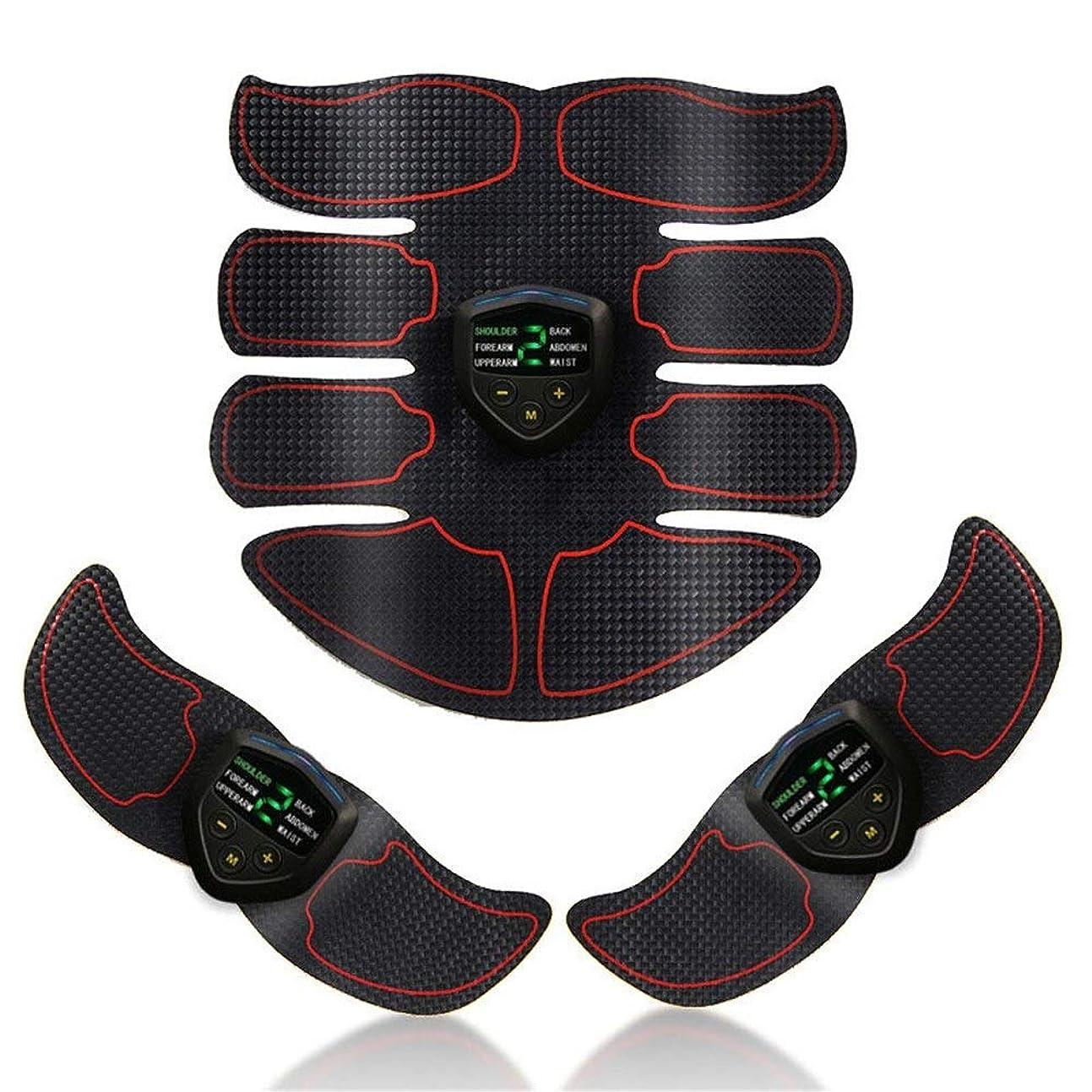 想像するハンマー出身地ABS刺激&筋肉トナー腹部調色ベルト&EMSボディ筋肉トレーナー脂肪バーナー機器6モード9グレード刺激強度ポータブルusb充電器 (Color : Plaid, Size : 2B+A)